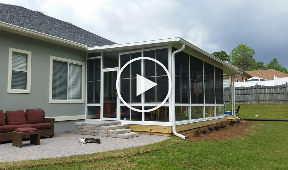 Insulated Composite Roof Screen Rooms